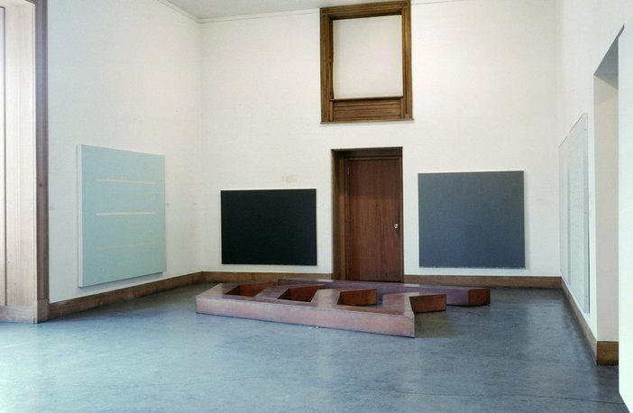 A Romatic Minimalism 1967 Installation view