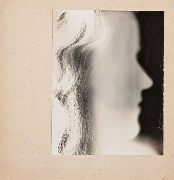 Barbara Hepworth, Self-portrait photogram c1932-3