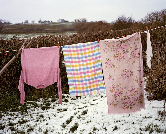 Peter Fraser, Easton, nr Wells from the series Everyday Icons, 1985-1986, C-type print, 50.8x60.9cm