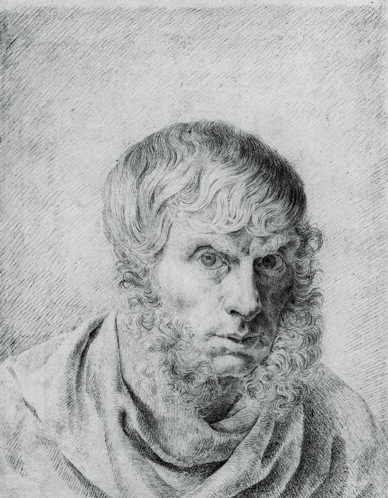 Caspar David Friedrich Self-Portrait 1810