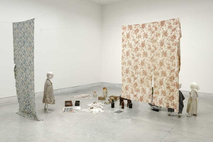 Cathy Wilkes Untitled 2013 Installation view