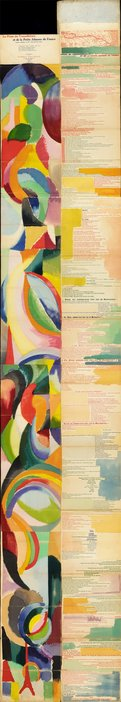 Sonia Delaunay, Prose on the Trans-Siberian Railway, 1913