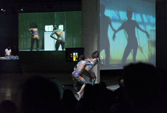 Charles Atlas with Cecilia Bengolea and François Chaignaud, BMW Tate Live, The Tanks, Tate Modern.