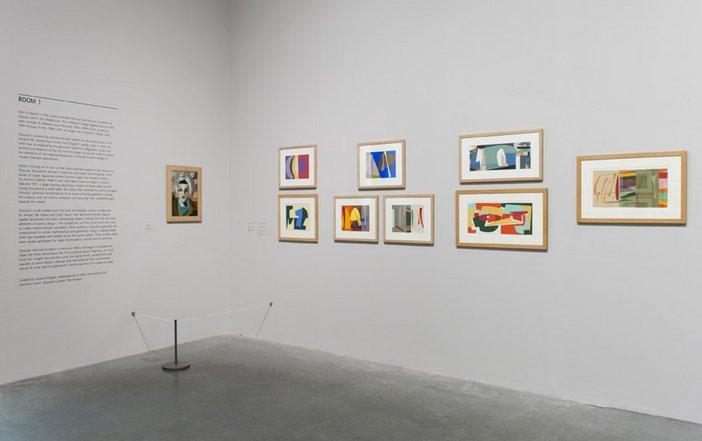 Saloua Raouda Choucair exhibition at Tate Modern. Room 1 Installation View