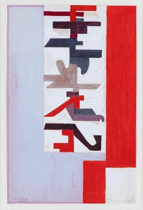 Saloua Raouda Choucair Experiment wIth Calligraphy 1947–1950