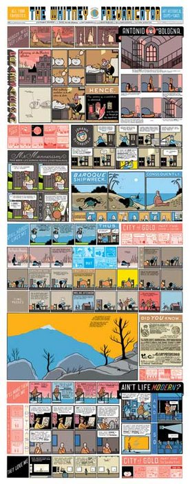 Chris Ware The Whitney Prevaricator 2002