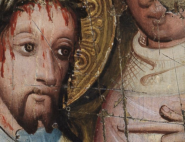 Christ before Pilate Art Under Attack close-up © The Fitzwilliam Museum, Cambridge