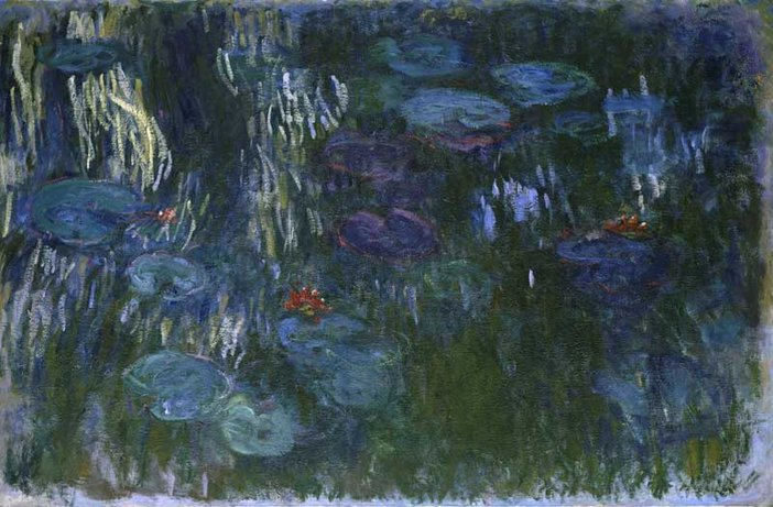 Claude Monet Waterlilies 1916