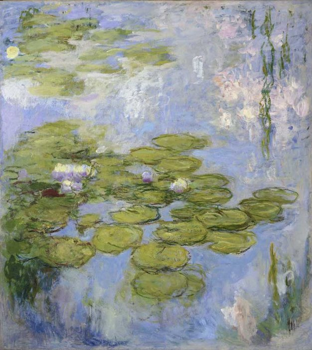 Claude Monet Waterlilies 1916-19