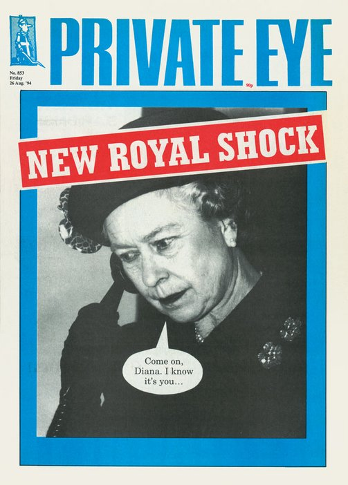 Front cover of Private Eye 26 August 1994