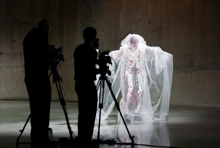 Charles Atlas with Johanna Constantine and Helm, Performance as part of Charles Atlas and Collaborators, 2013