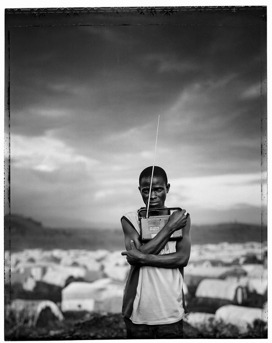 Jim Goldberg, Prized Possession, from the series Democratic Republic of Congo, 2008