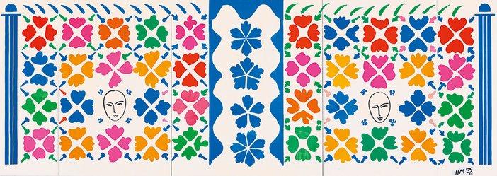 Henri Matisse, Large Decoration with Masks 1953