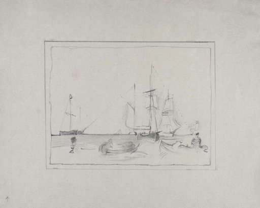 Anthony Whishaw After Turner Boats at Cowes circa 1827