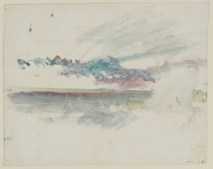 J.M.W. Turner Storm Clouds, Looking Out to Sea ?1845