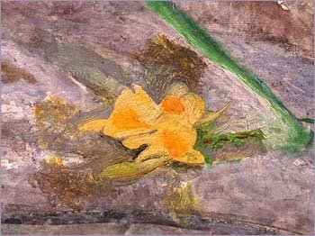 Detail of daffodils from Ophelia