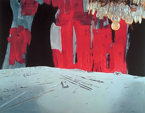 Dexter Dalwood Ceausescu's Execution 2002 oil on canvas, 268 x 347.5 cm