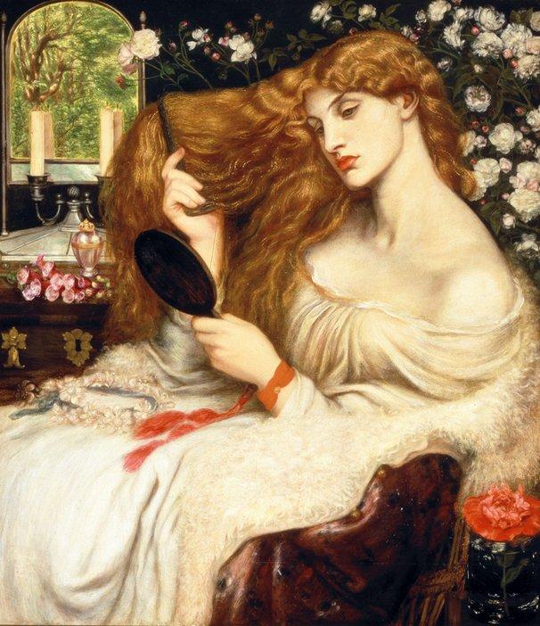Dante Gabriel Rossetti Lady Lilith 1866–8