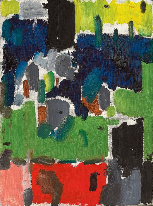Patrick Heron, Garden Leaves 1955