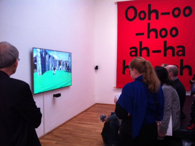 English Magic, a new film work by Jeremy Deller on display in the British Pavilion at the Venice Biennale 2013