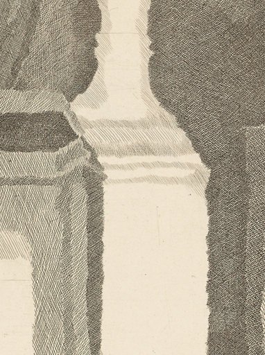 Giorgio Morandi Still Life with Very Fine Hatching 1933 detail