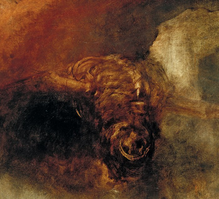 Detail of JMW Turner, The Fall of Anarchy, c1833–4