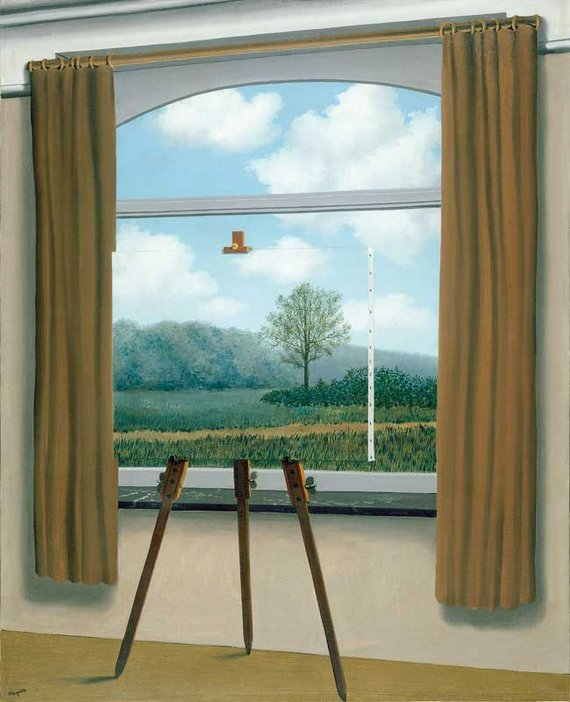 Rene Magritte La Condition Humaine 1933