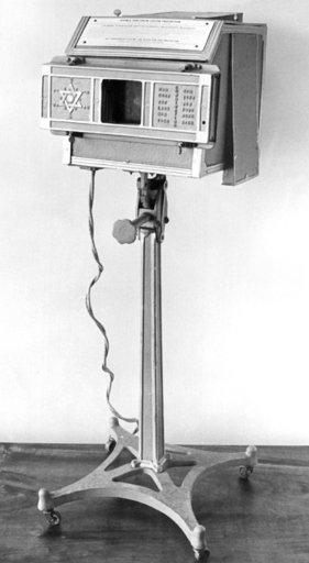 Dinshah Ghadialis Spectro Chrome 1920.