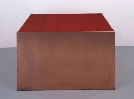 Donald Judd Untitled 1972