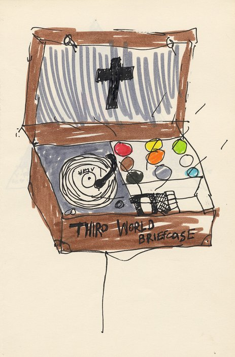 Donald Rodney Third World Briefcase Tate Archive