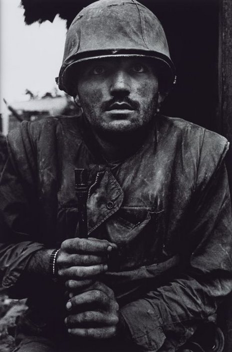 Don McCullin, Shell Shocked US Marine, The Battle of Hue 1968