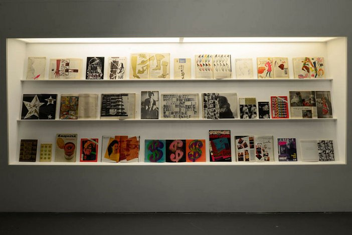 Installation of Transmitting Andy Warhol at Tate Liverpool