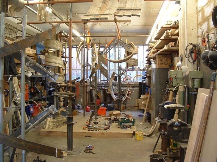 Matthew Perry Richard Deacon studio 2 2013