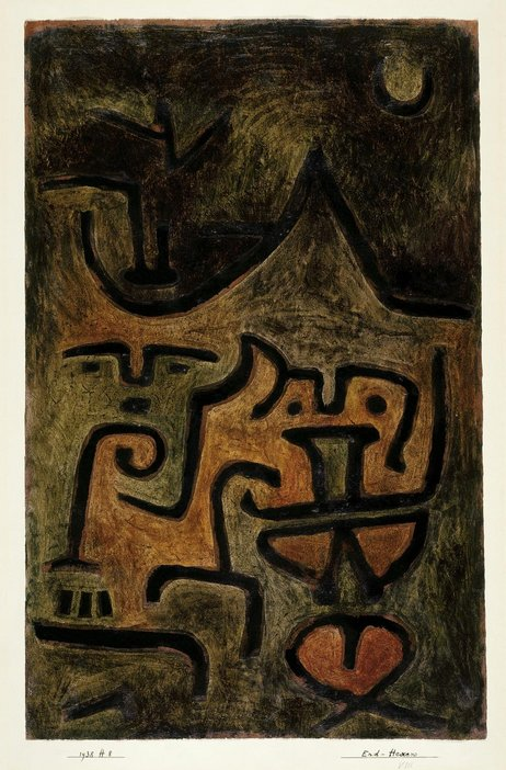 Earth Witches, Paul Klee, 1938
