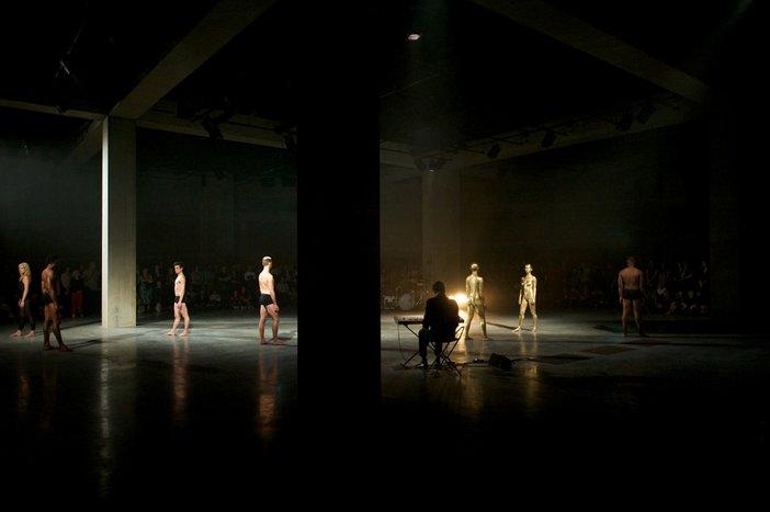 Sweat, Sport, and Sex: Artist Eddie Peake on Finding the