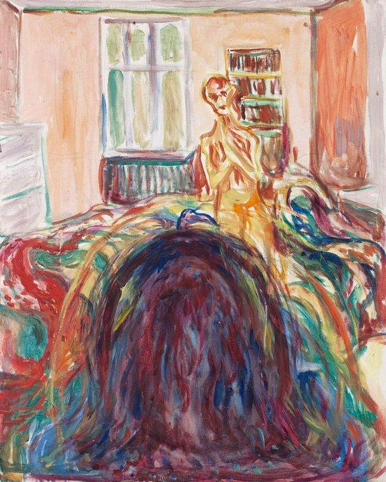 Edvard Munch Disturbed Vision 1930