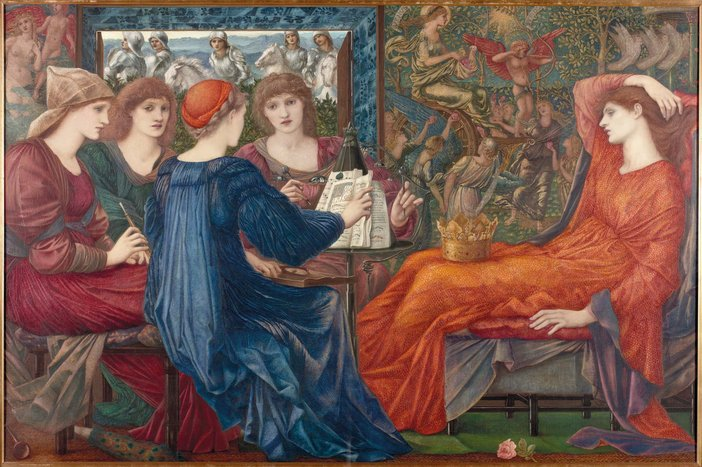 Edward Coley Burne-Jones Laus Veneris 1873-1878