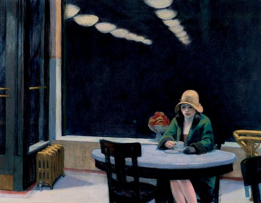 Edward Hopper Automat 1927