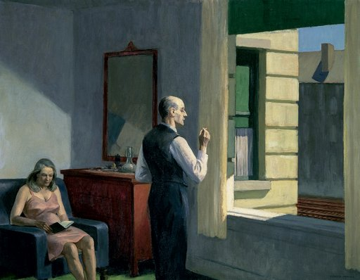 Edward Hopper Hotel by a Railroad 1952 Oil on canvas