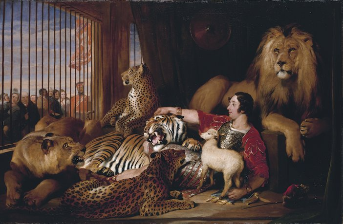 Edwin Landseer, Isaac van Amburgh and his Animals, 1839