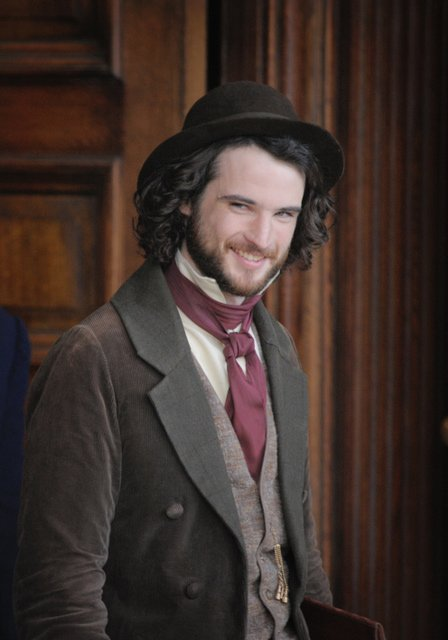 Tom Sturridge as Millais in Effie Gray