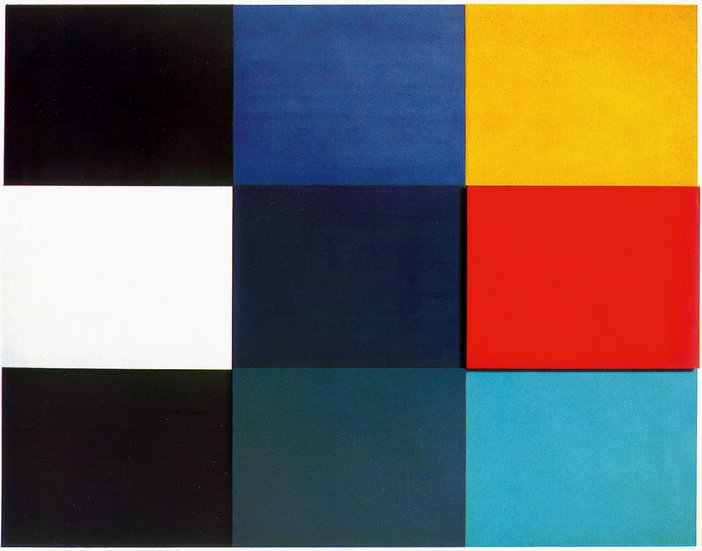 Ellsworth Kelly Mediterranee 1952