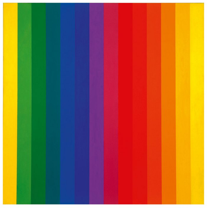 Ellsworth Kelly Spectrum I 1953