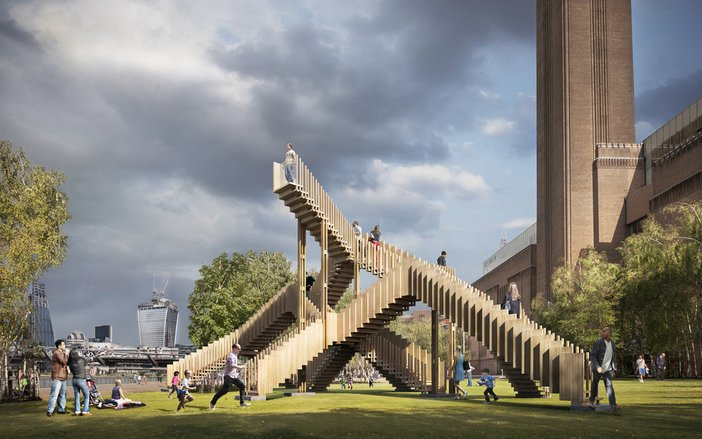 Endless Stair designed by dRMM for the London Design Festival 2013