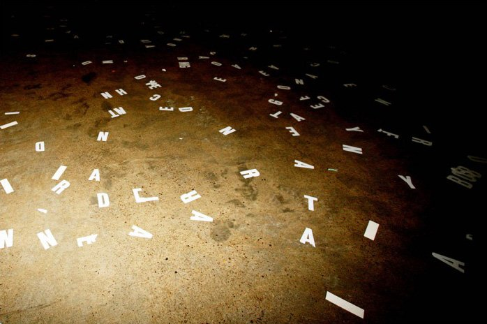 Ewa Partum, Visual Poetry 2006