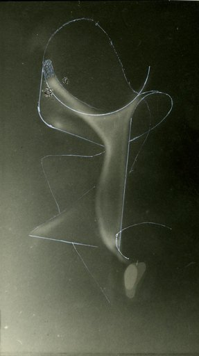 Experimental photograph by Naum Gabo taken on 16 October 1941