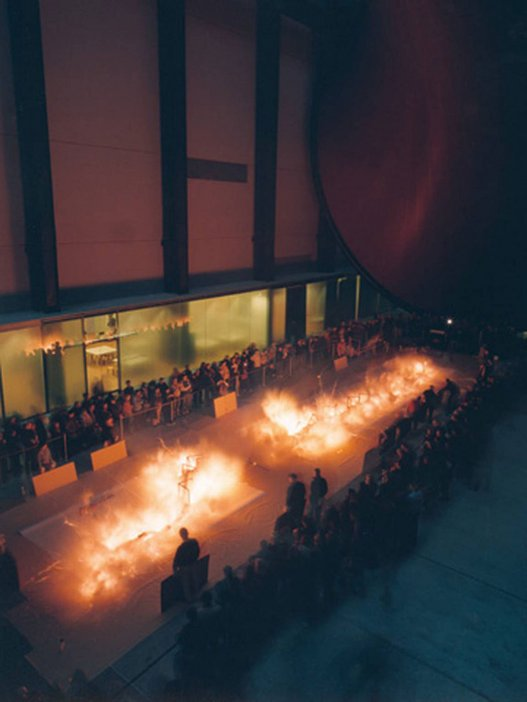 Cai Guo-Qiang, Ye Gong Hao Long (Mr Ye Who Loves Dragons): Explosion Project for Tate Modern 2003