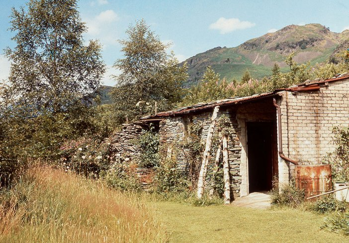 Photograph of Elterwater Merz Barn in 1953