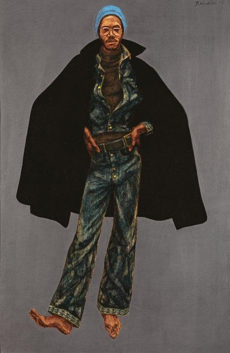 Barkley L. Hendricks, George Jules Taylor 1972