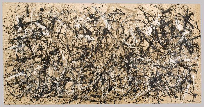 Jackson Pollock, Autumn Rhythm (Number 30) 1950